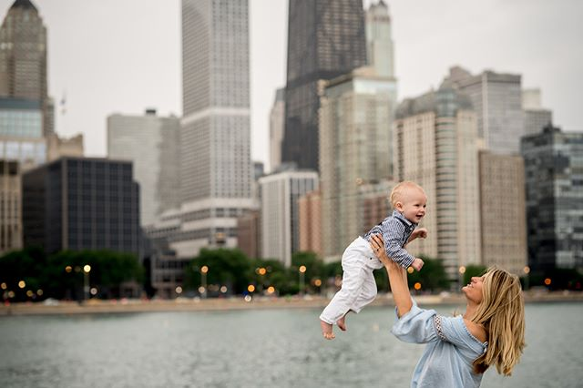 The first time I met this little mister, he was two days old and had JUST left the hospital to make it in time to his uncle's wedding, and now he turns ☝🏻 on Friday! ⠀ 🎉⠀ Somehow, we squeezed his first birthday shoot in between torrential downpours this past week.  It may have been wet, hot and humid, but that skyline is just majestic as always.⠀ 🏙