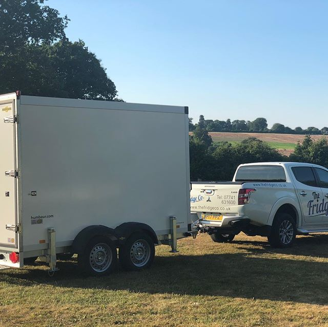 Just arrived  into our fleet today - brand new 3 metre Humbaur  fridge /freezer trailer all ready to hire ....