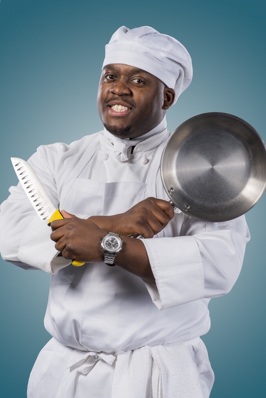 Chef Claudy Pierre from Savoy