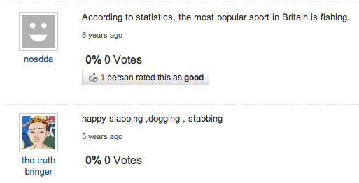 Happy Slapping Yahoo Answers