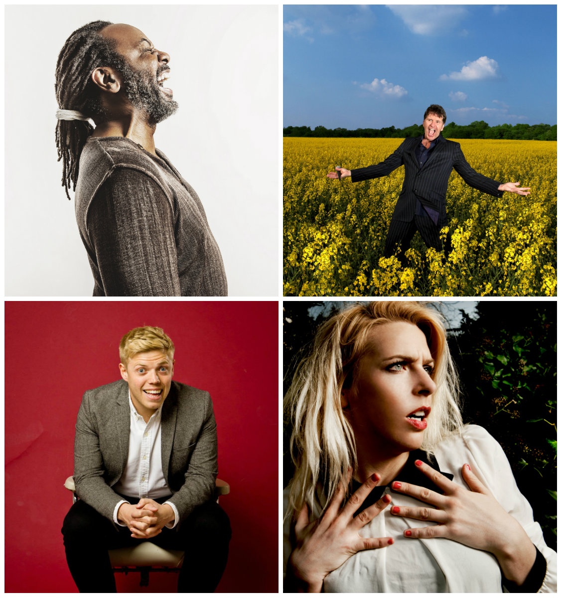 Top acts this year include Rob Beckett, Sara Pascoe, Reginald D Hunter and Stewart Francis