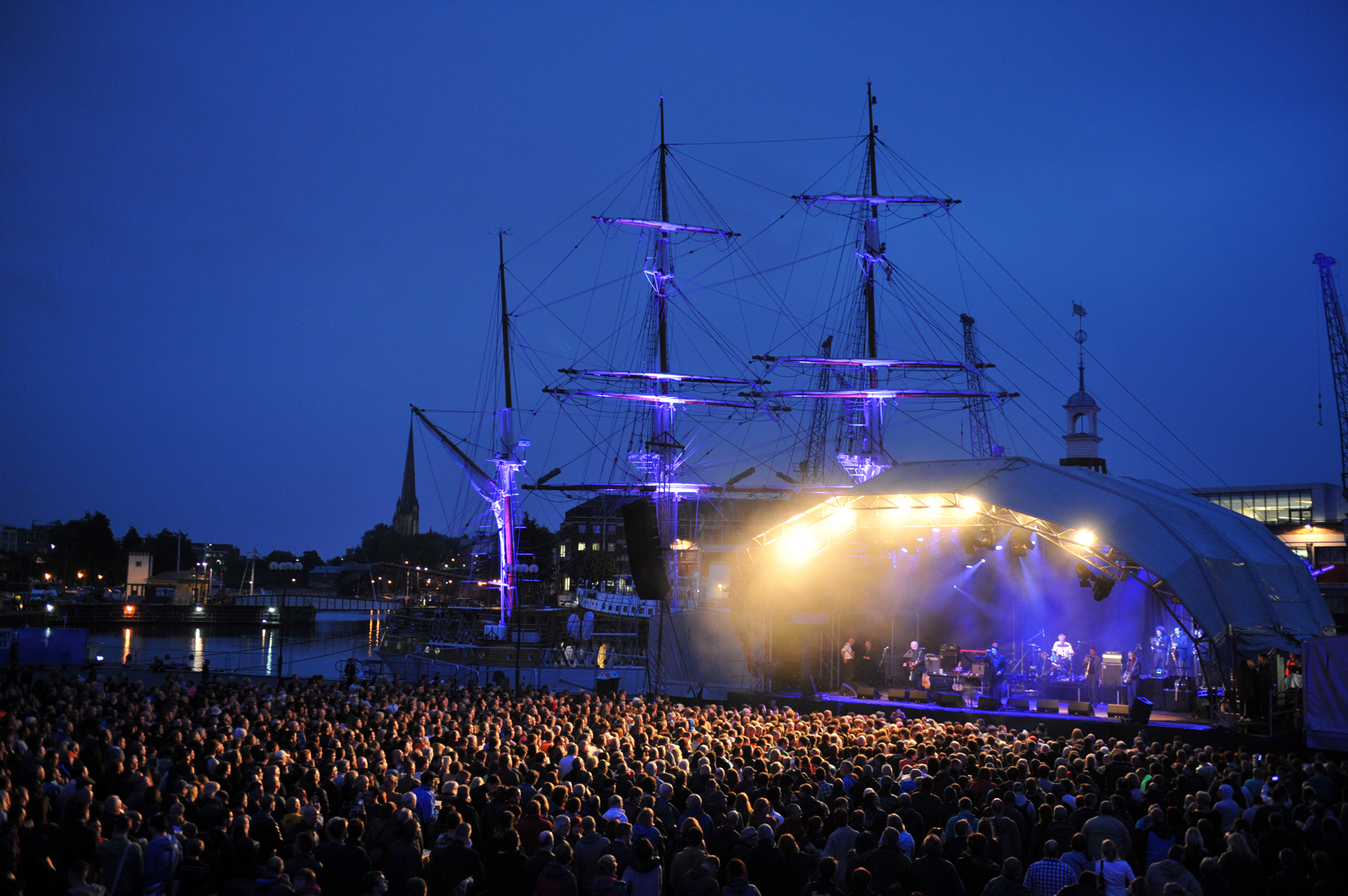 Bristol Summer Series The Pogues - Credit Paul Michael
