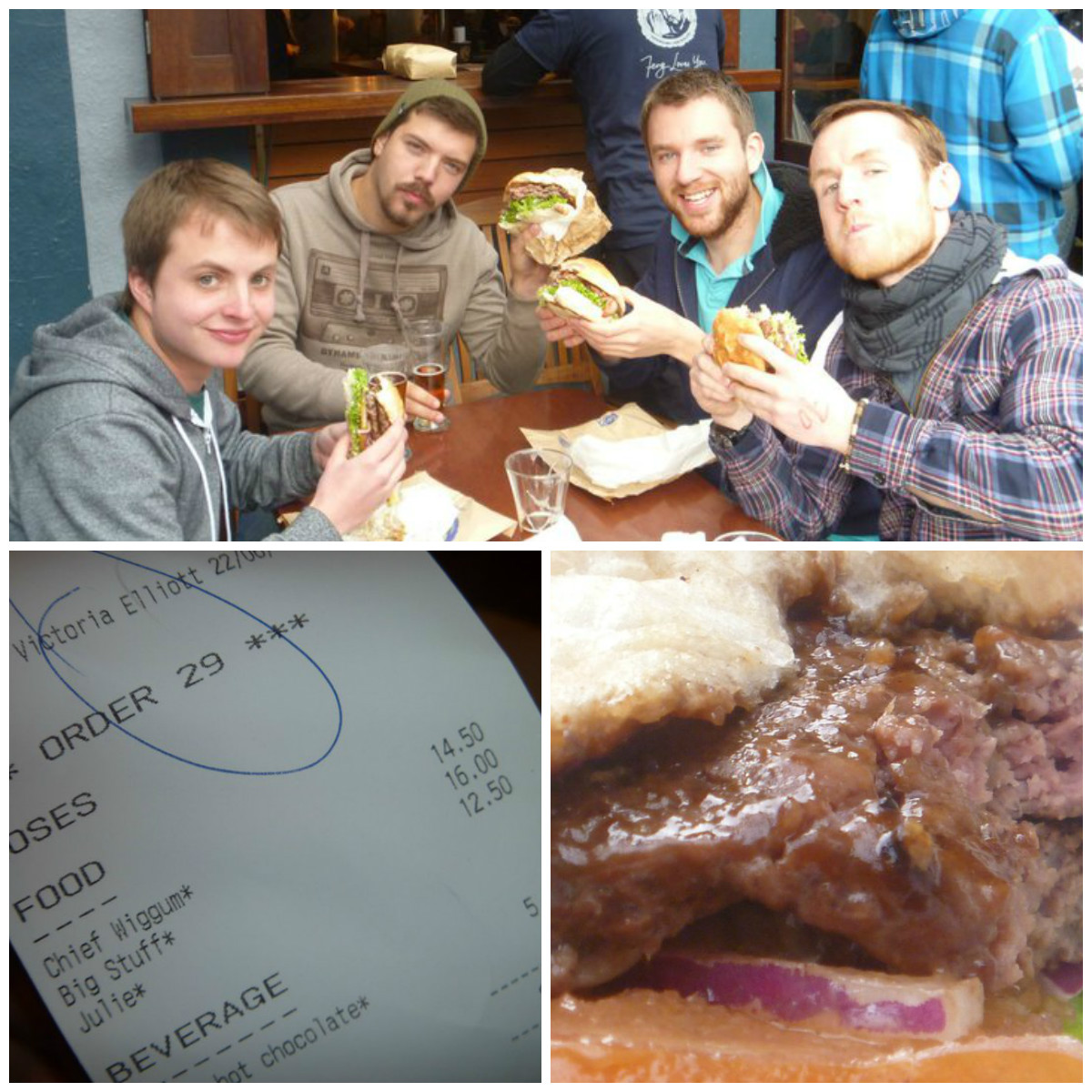 Meaty Fergburger memories...