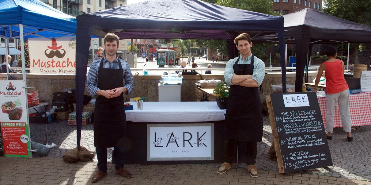 LARK owners George and Alex