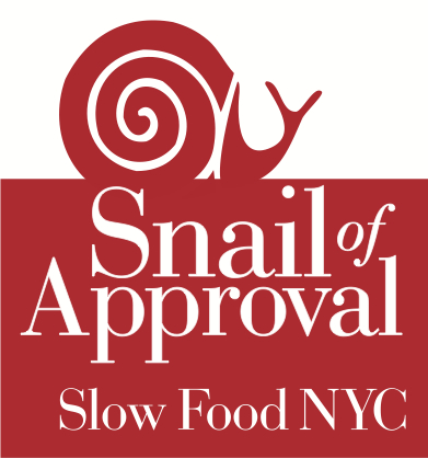 snail of approval slow food nyc