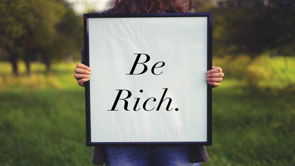 Be Rich Series Title Graphic.png