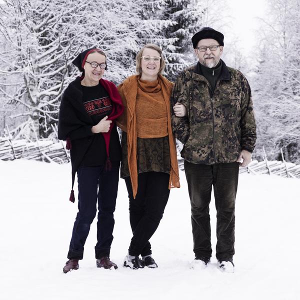 Anita Ovaskainen, Anni Korhonen and Heikki Ovaskainen