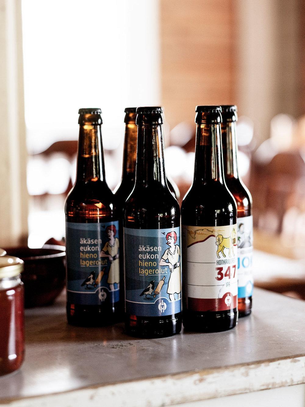 Honkavuoren Panimon oluet nyt meillä.jpg