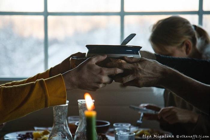 Yhdessä syöminen antaa paljon iloa!