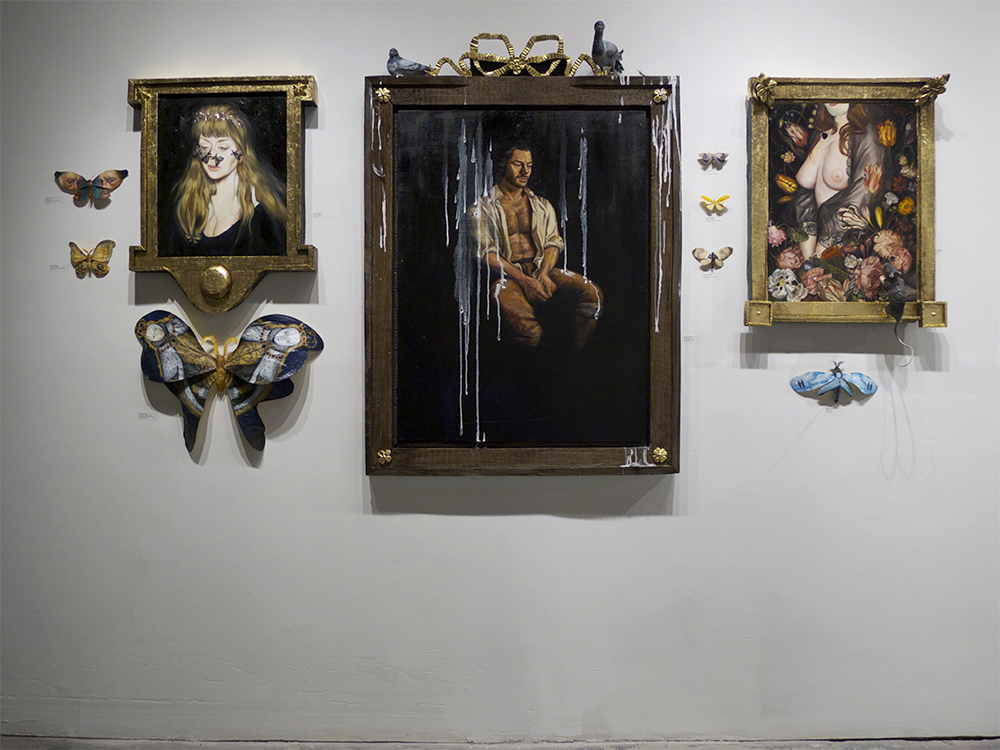 This is the last week you can visit  Away From The Numbers  at Bunnycutlet Gallery, 158 Roebling in Williamsburg, 2-8 pm daily. Check it out if you haven't yet! The rest of the walls are packed with great works by  Paula Searing ,  Gregory Benton ,  Kristen Liu-Wong ,  Franca Barone  and  Will Buzzell .