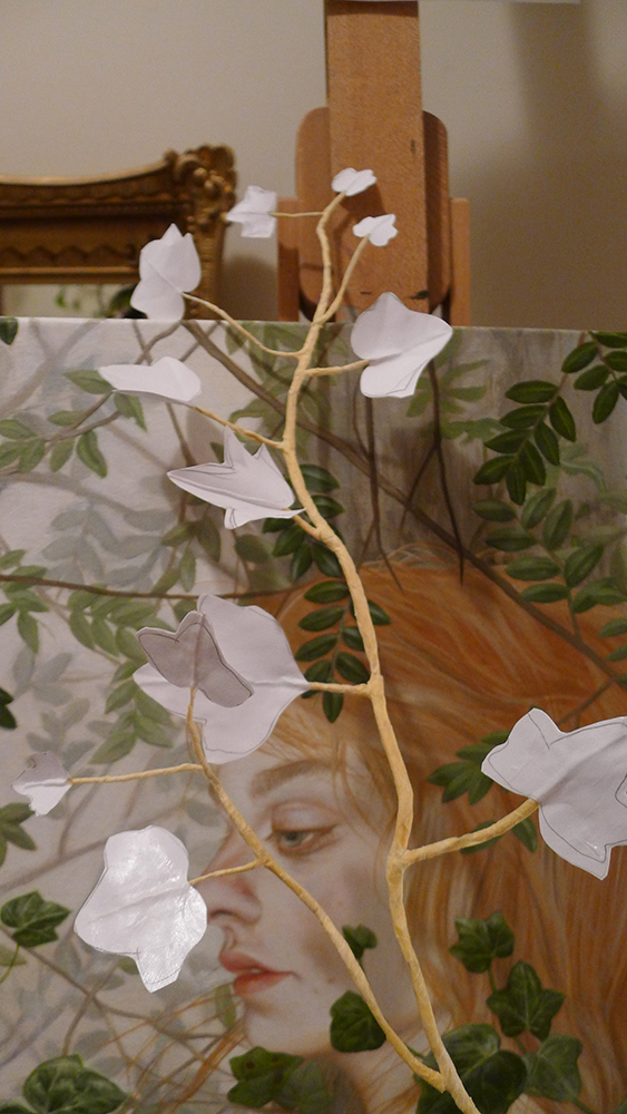 Back in progress…working on 3D vines.