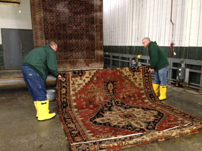 Step 6: Area Rug Cleaning