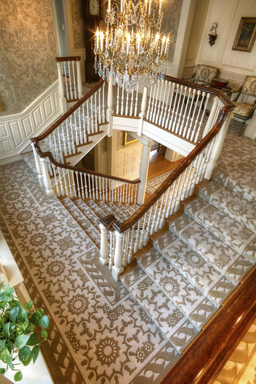 Custom Designer Wool Staircase