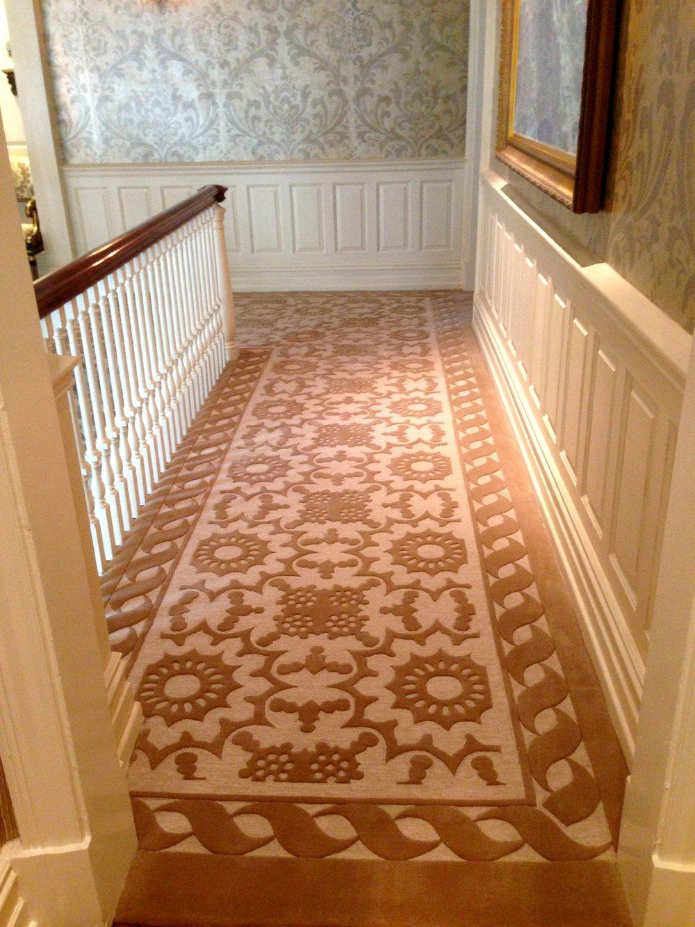 Custom Designer Wool Carpeting
