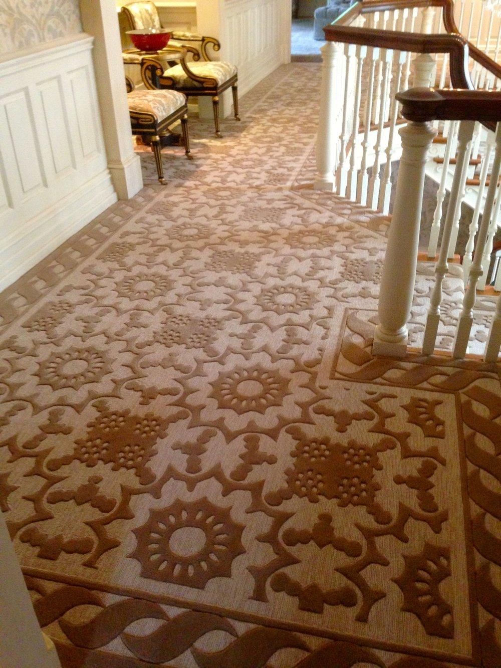 Custom Designer Wool Carpet