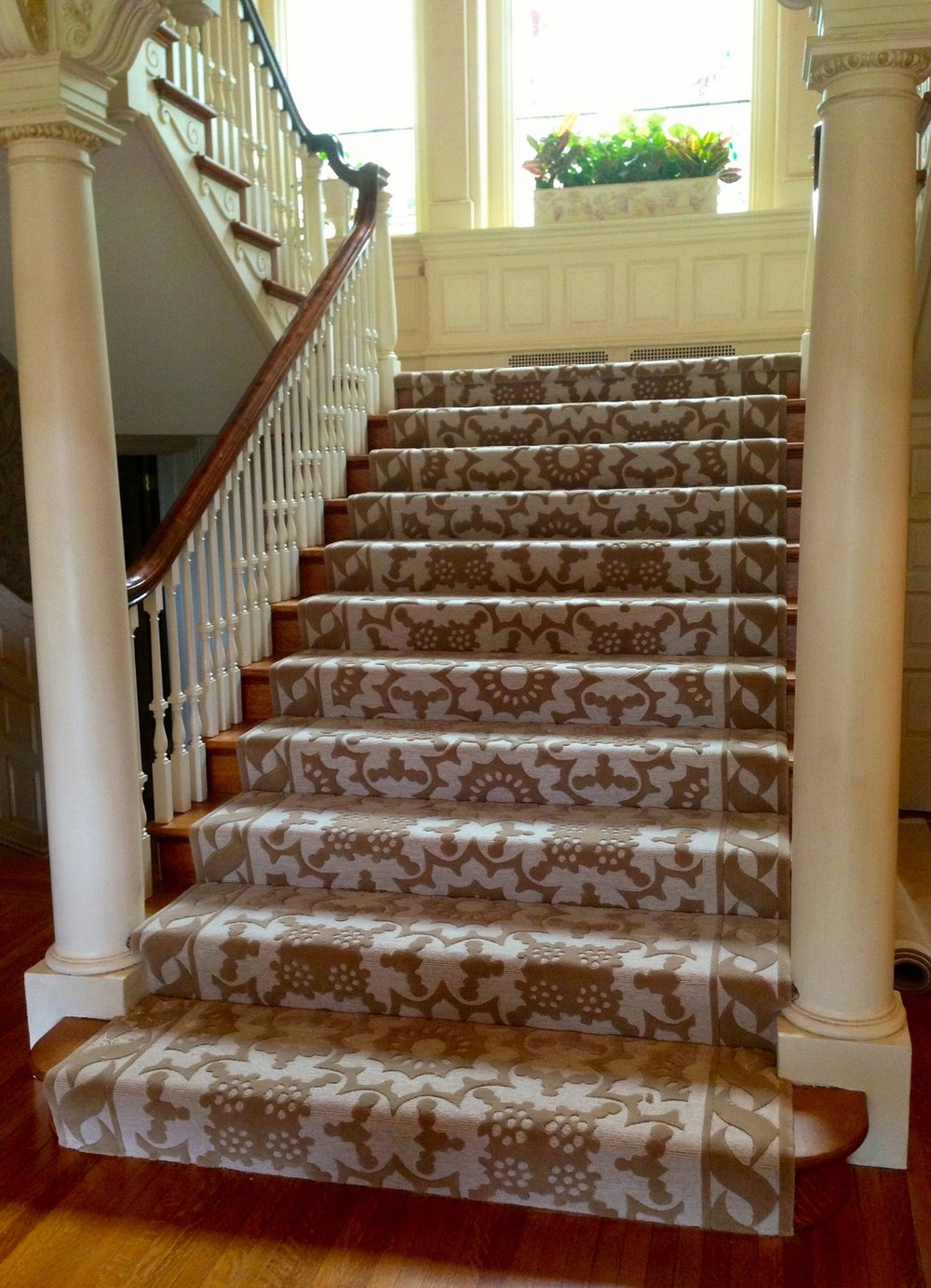 Custom Designer Wool Staircase