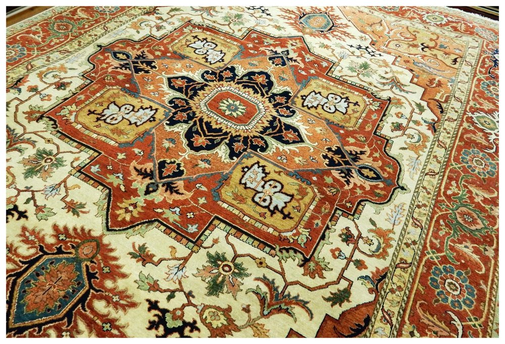 Oriental Rug With Medallion