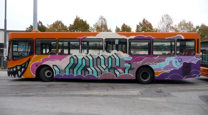 Telethon Bus,Padova 2010