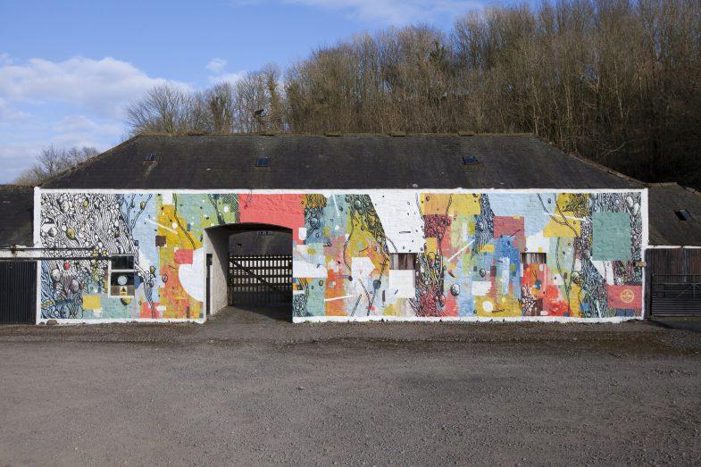 Spring Fling Rural Murals, Dumfries (Scotland) 2016