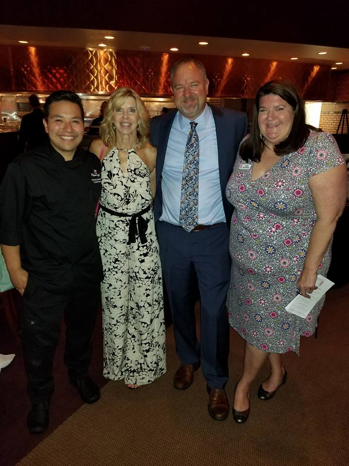 Chef Anthony Goodman, Mindy Stephens, Gene Mozingo and Carrie Henderson.jpg