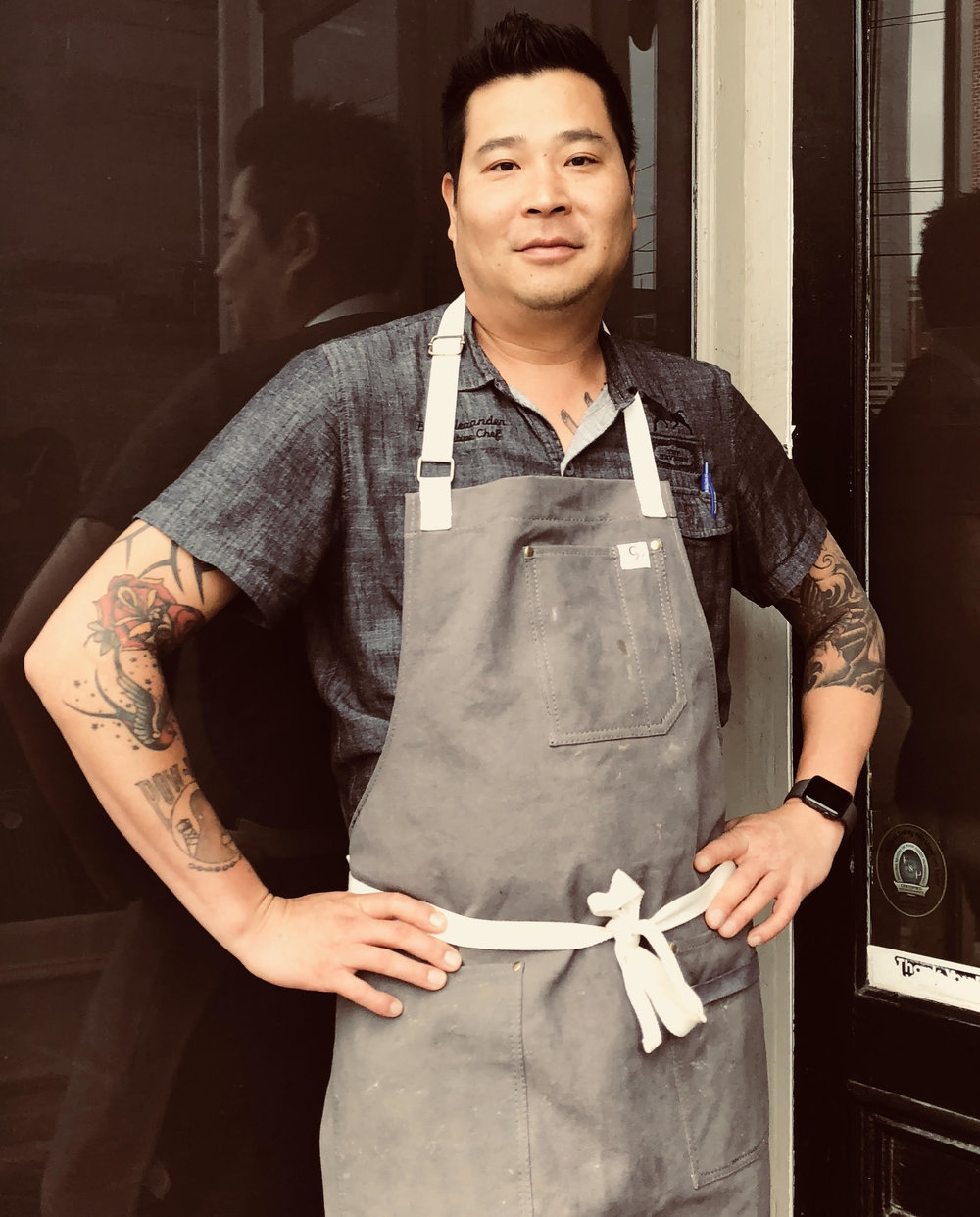 Ben AlexanderThe Tavern - Ben is the executive Chef from South Korea. He brought his culinary to Tulsa, OK. He is avid about always using fresh ingredients in his dishes. His favorite food to make is anything to do with noodles. With tasteful culinary dishes, his skills still show where he is from.