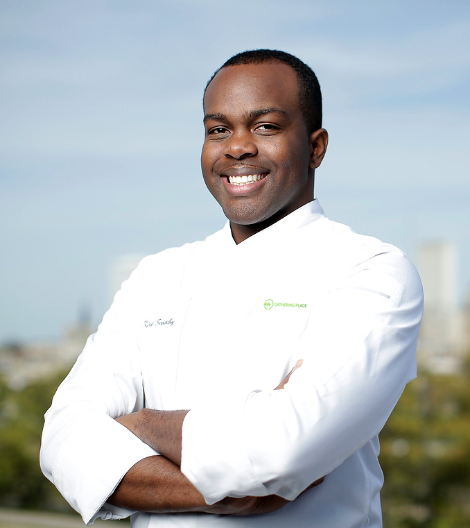Kirk SwabyThe Gathering Place - Chef Kirk was appointed the executive chef of Tulsa's newest riverfront park- The Gathering Place. He believes in creating an experience of making food that brings people together from all backgrounds.