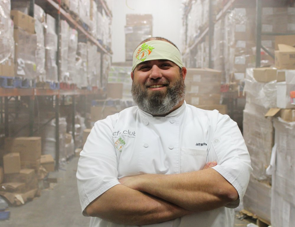 Jeff Marlow The Food Bank - Chef Jeff has always worked for private country clubs, until he found the opportunity to work with the Community Food Bank of Eastern Oklahoma. Through his experience at the Food Bank, he is always trying to incorporate new ideas for more healthy food options to those in need.