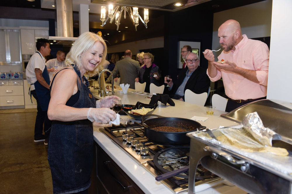 Meet the ChefsTaste the HarvestFeed the Need - Iron Gate's Cooking for a Cause Fundraiser supports our mission to feed the hungry and homeless of Tulsa every day. More than 90% of dollars raised at this event go directly to support operations.