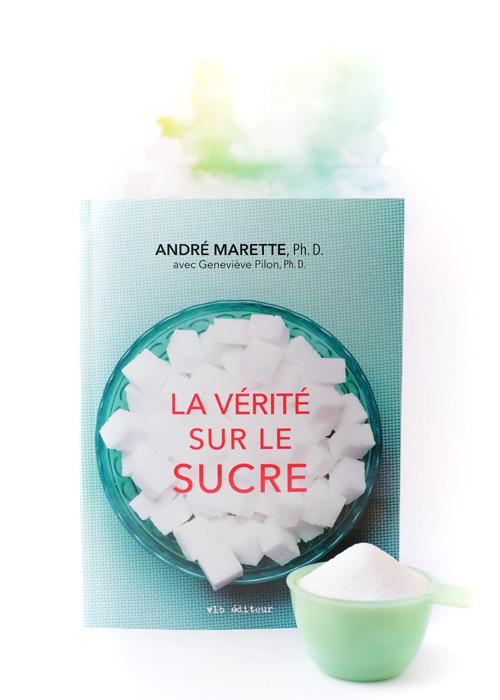 Procurez-vous le premier livre du chercher André Marette qui parle d'un sujet très conversé à l'heure actuelle : le sucre!