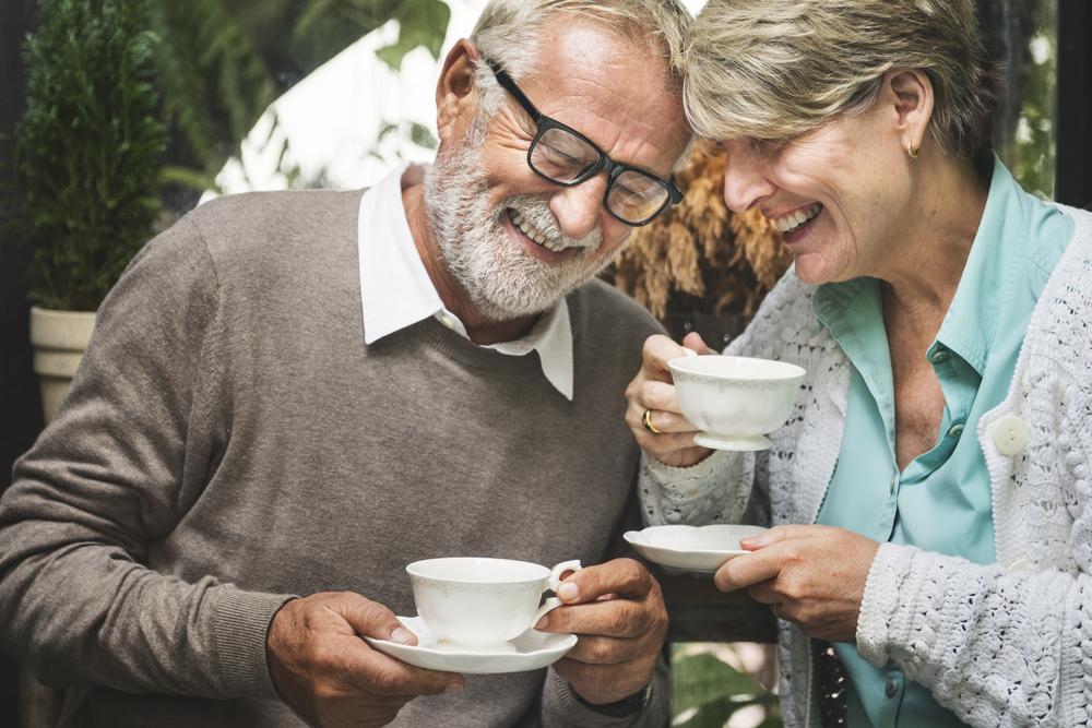 Couple aînés diabète