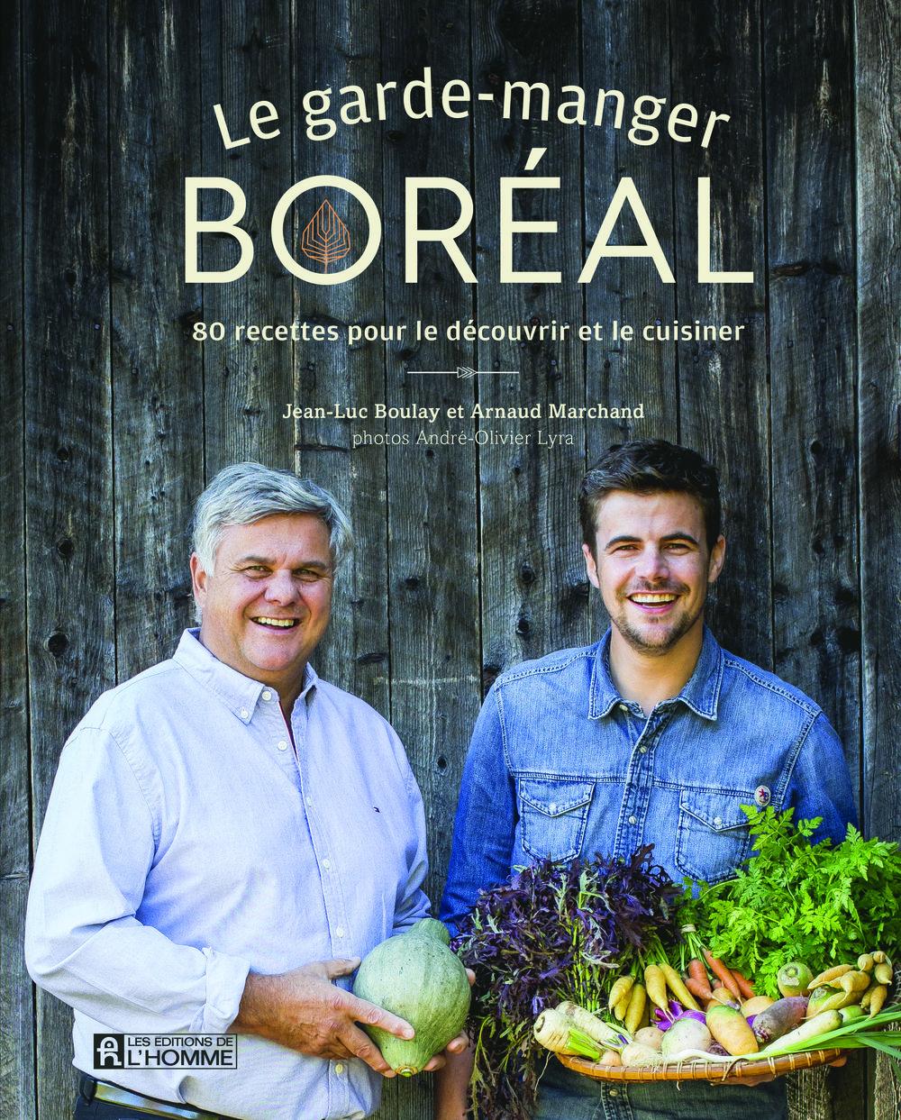 Procurez-vous le livre  Le garde-manger boréal  pour avoir une foule d'idées géniales permettant d'inclure les saveurs d'ici dans votre assiette.
