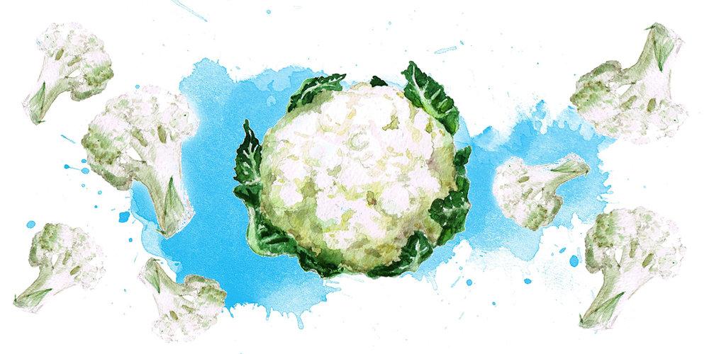 5 façons d'apprêter le chou-fleur - Je vous invite à lire mon plus récent article de blogue sur le chou-fleur, cet aliment si polyvalent!
