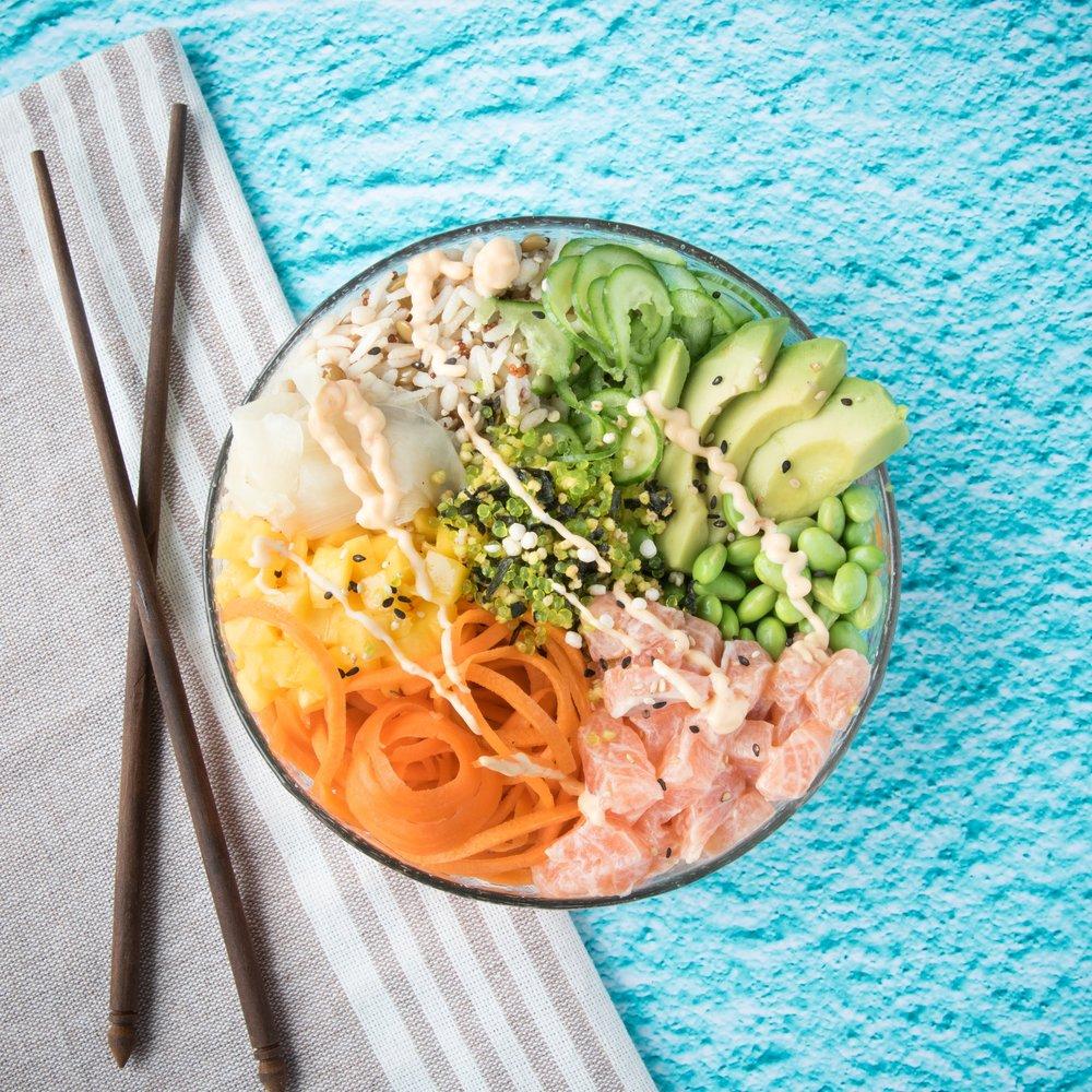 Le meilleur poké bowl du monde - Fans de poké, vous adorerez cette recette!
