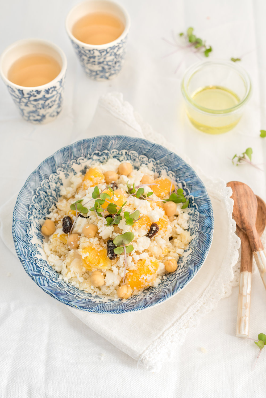 Salade marocaine Photographie tirée du livre  Légumineuses & Cie  Photographie culinaire : Catherine Côté Stylisme culinaire : Hubert Cormier