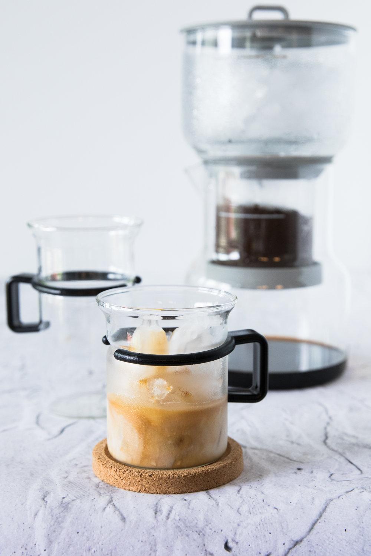 Café infusé à froid ☕️❄️ Photographie et stylisme culinaire : Hubert Cormier