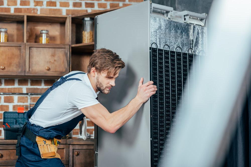 Déménagement du réfrigérateur en sécurité