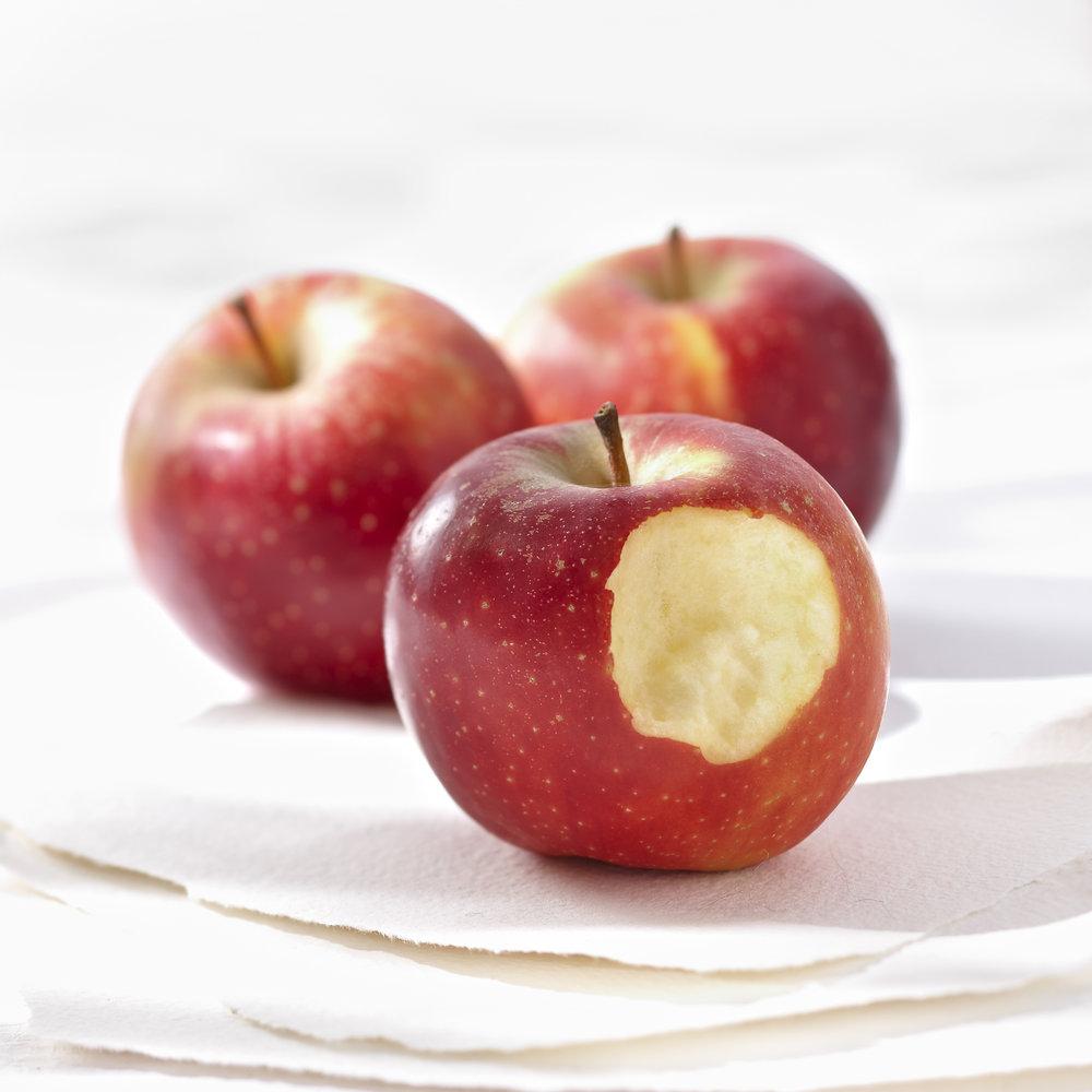 Gros plan sur la pomme Ariane