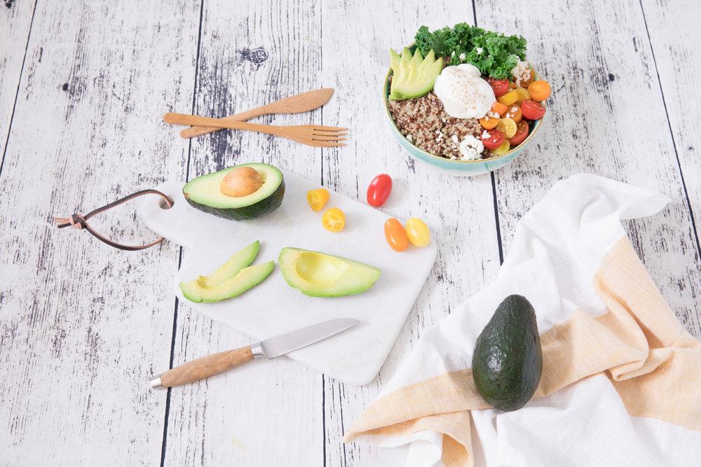 Avocats du Mexique - Meal prep - Bol déjeuner quinoa et avocat