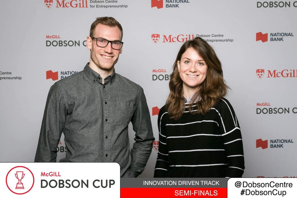 Finalistes de la coupe Dobson de l'université McGill – printemps 2017