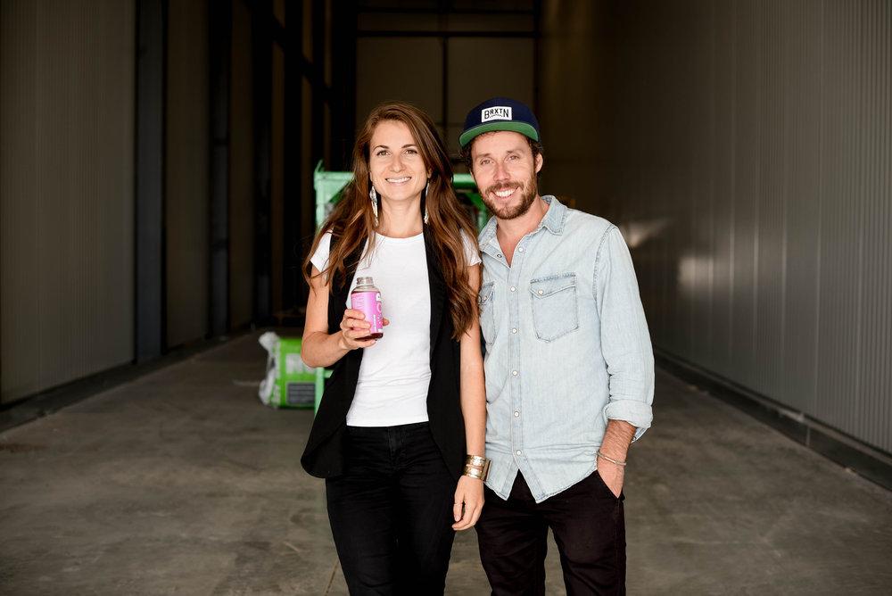 David et Julie, cofondateurs de LOOP