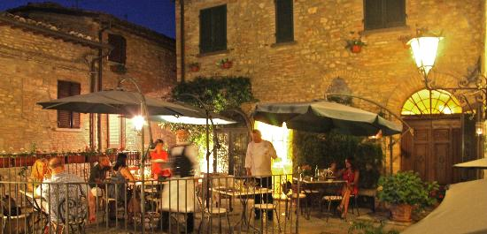 AT La Locanda del Capitano, montone - unforgettable dinning!