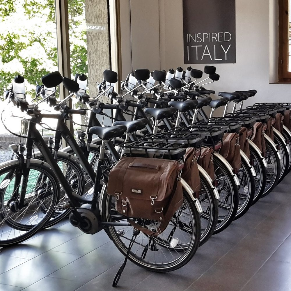 THE BEST EBIKE FLEET IN ITALY