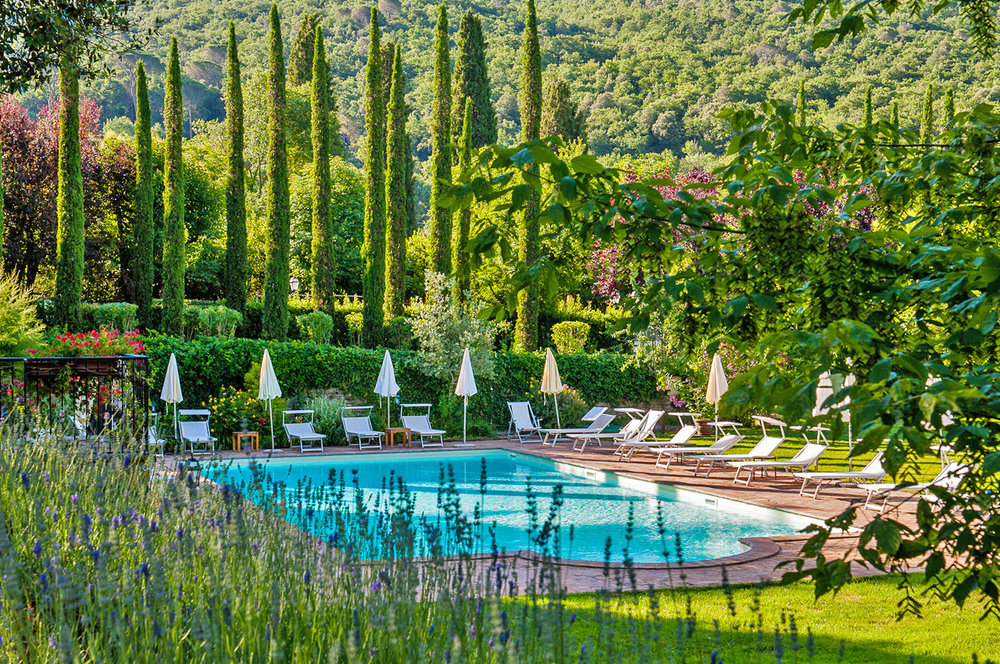★★★★ the pool at Hotel Villa di piazzano, cortona