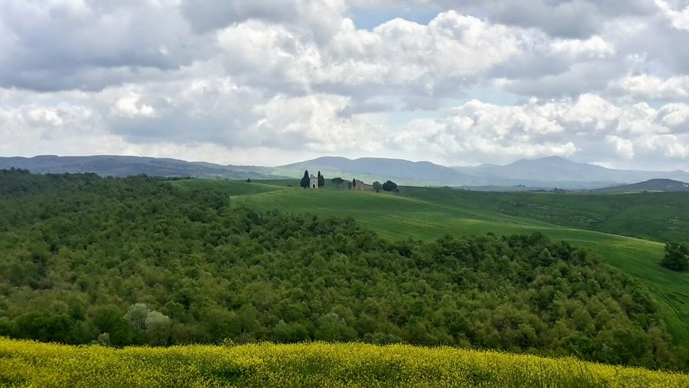 San quirico d'orcia to pienza: May 2016