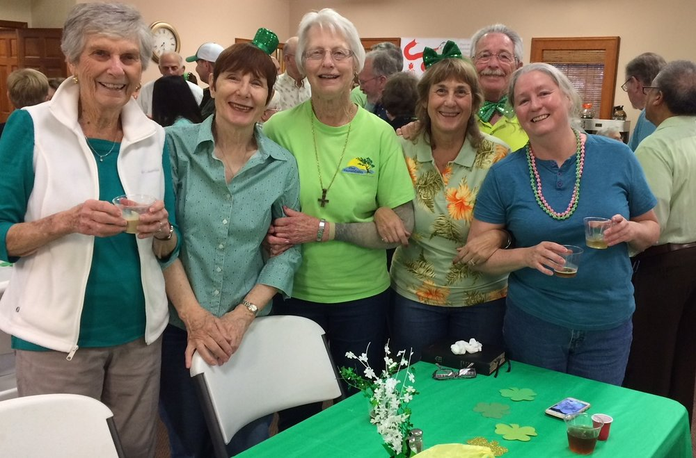 2018 St. Patrick's Day dinner for Appleton Ministries.