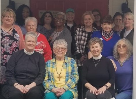 Daughters from local churches joined the Mary's Heart, Martha's Hands chapter for a Quiet Day with the Vicar of Atlanta, the Rev. Donna Mote, on March 2, 2019.
