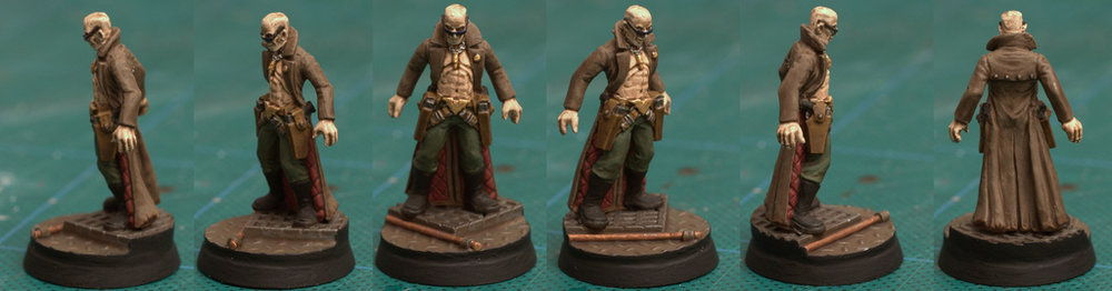 Delaque: stealthy, bald and apparently ripped.
