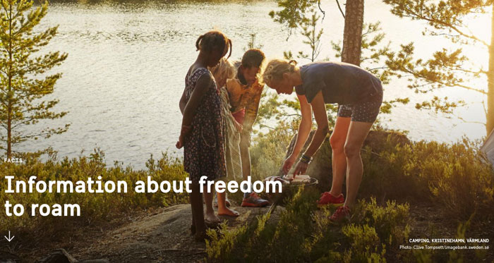 Information about Freedom to Roam