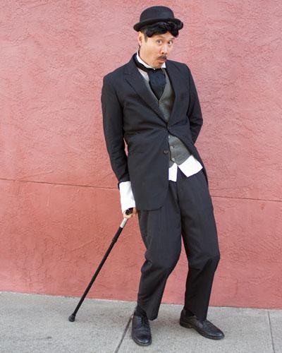 Charlie Chap(alan) The original comedy genius.