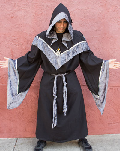 Dark Sorcerer Be careful, this dark lord is enchanting a dark and dangerous spell.